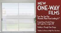 One-Way Window Film | Home - Living Room | Pinterest
