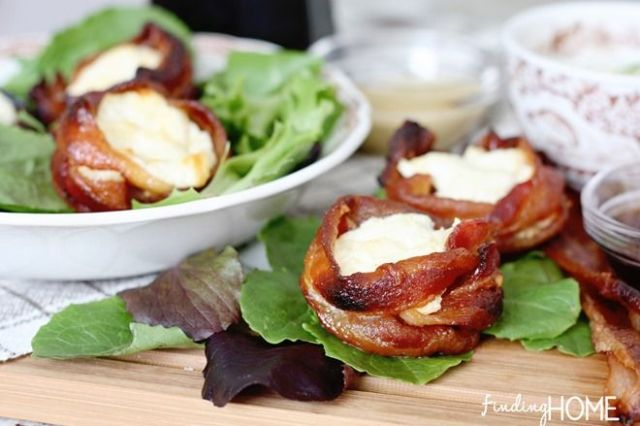 Recipe: Maple Bacon Cheese Cups - Finding Home