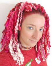 pin emily bufford yarn hair