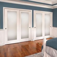 Frosted glass closet doors | Home-life | Pinterest