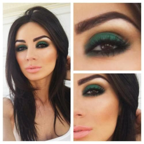 Smokey Emerald Green Eyes