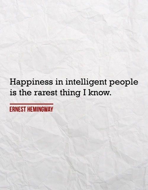 Hemingway Happiness