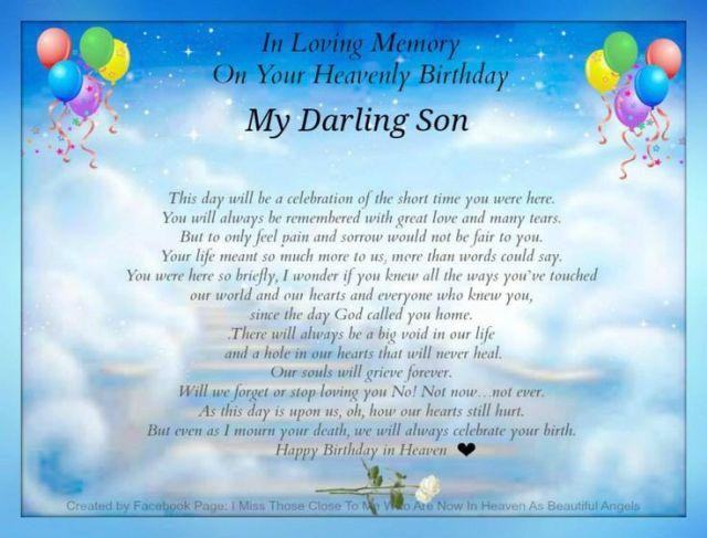 In loving memory in memory of my son daniel pinterest