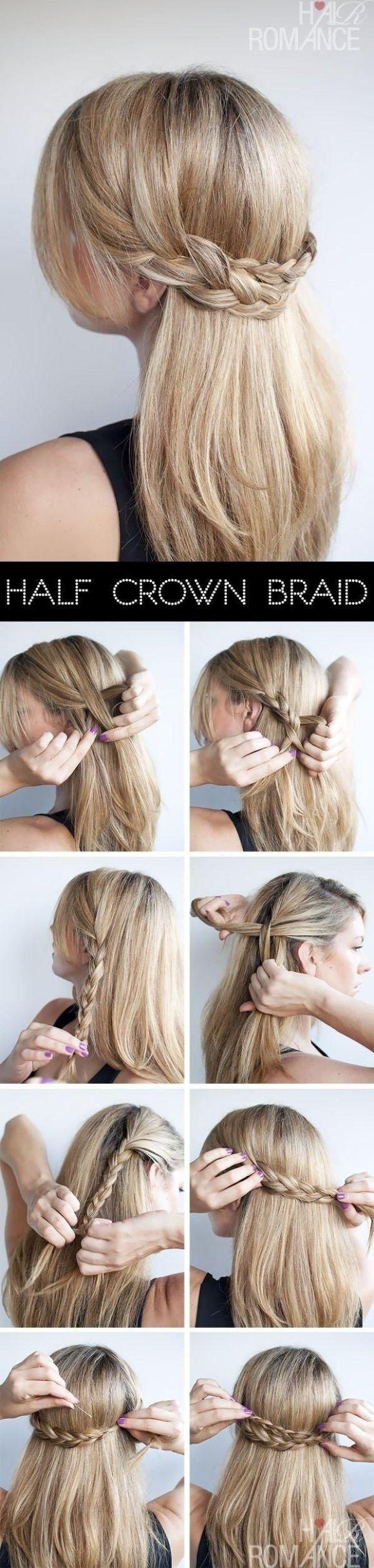 Half-crown braid