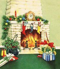 My Vintage Mending: Mantel Garland | Vintage Christmas ...