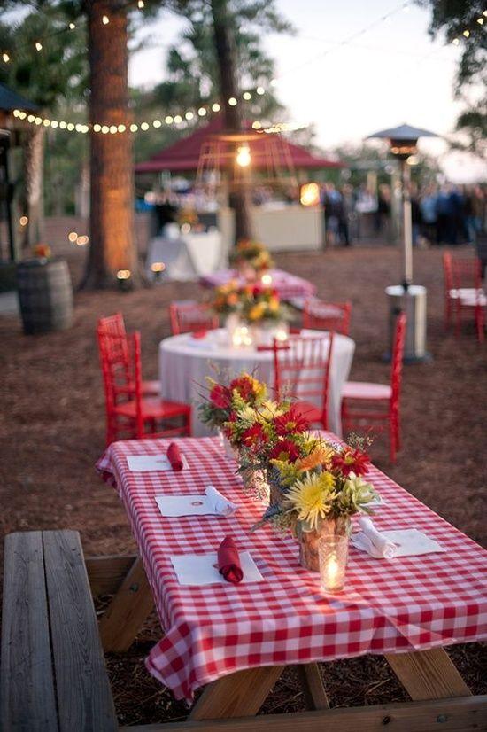 Picnic wedding ideas