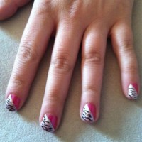 Nail Designs Zebra Stripes | Nail Art Designs