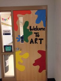 The gallery for --> Art Classroom Door Decorations