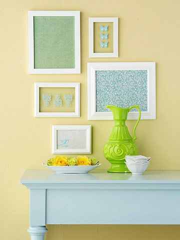 home decor, home design, DIY, scrapbook paper
