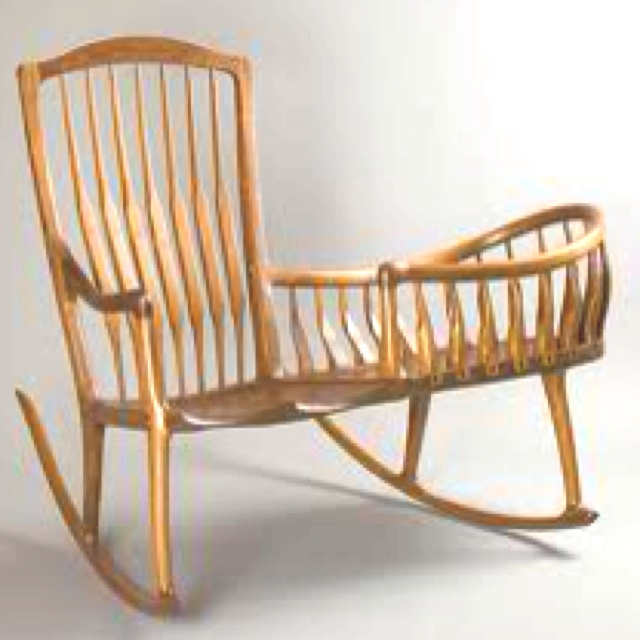 sam maloof rocking chair plans hal taylor drexel heritage dining table and 6 chairs diy woodworking rustic barn domestic for