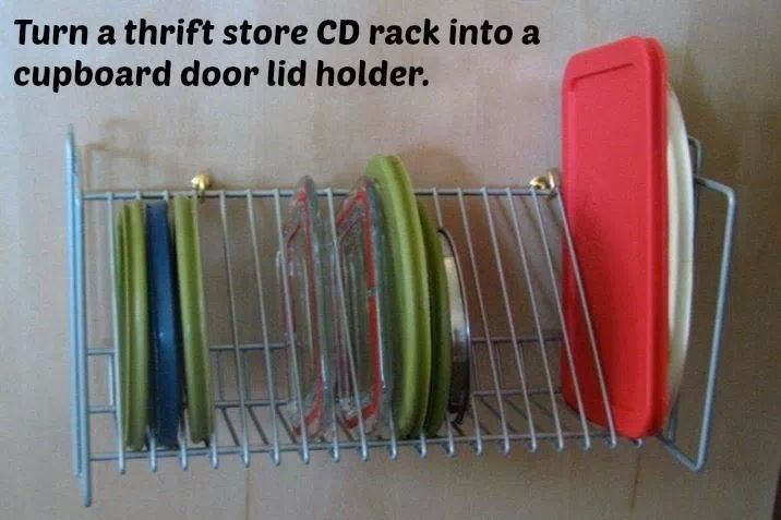 Use For Old Cd Rack Arts And Crafts Pinterest