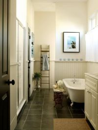 Nice for a small bathroom. | Bathroom Ideas | Pinterest