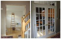 Transom above French Doors | Window seats/built ins ...