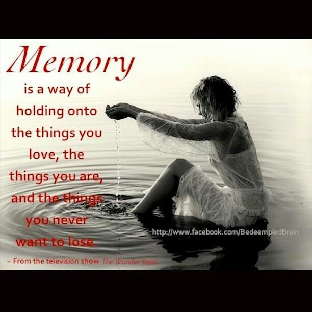 Good Old Memories Quotes