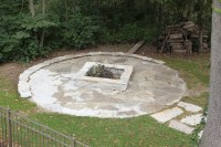 Flagstone fire pit.   Outdoors   Pinterest