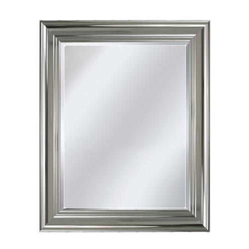 bathroom wall mirror polished chrome  Bathrooms