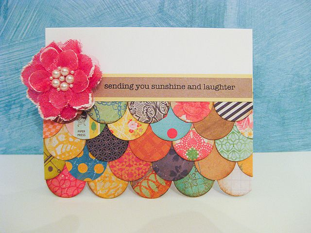 great card to use up scraps! Did it!  Check out my blog for my version after 6/28/14  https://gardengirl92.wordpress.com