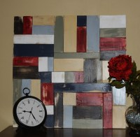 Pottery Barn Knockoff Wood Wall Art | Build It | Pinterest