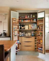 Kitchen pantry with door storage. | Organization | Pinterest