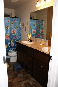 SpongeBob Bathroom for the kids! | Projects We've Done ...