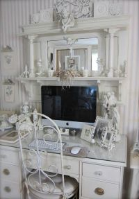 Shabby chic office | Things I love | Pinterest