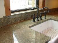 Seafoam green granite   Kitchen ideas   Pinterest