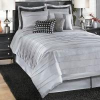 Lilith - Silver Bedding Set | Guest Bedroom | Pinterest