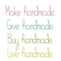Handmade is where it's at | Crafty & Creative Quotes ...