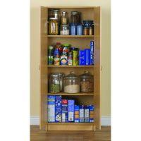 akadaHOME 60-inch Birch Storage Cabinet | Overstock.com ...