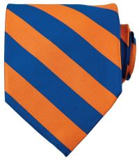 Collegiate Tie-Royal Blue/Orange