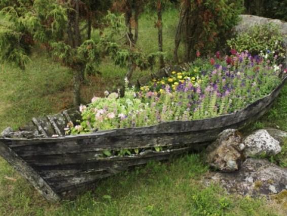 da barca a fioriera