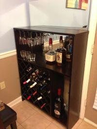 Homemade wine rack | Cute Projects | Pinterest