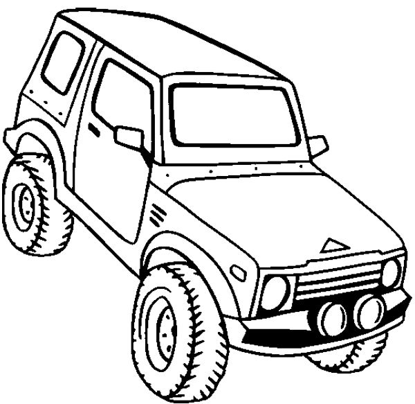 4X4 Off Road: 4x4 Off Road Coloring Pages