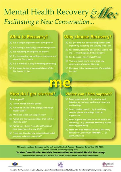 Mental Health Recovery & Me   recovery   Pinterest