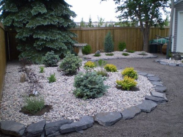 easy frontyard cheap landscaping