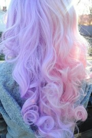 cotton candy colored hair hairstyles