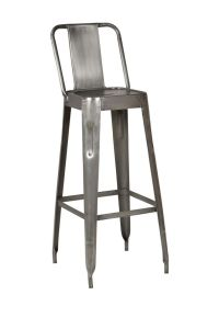 Industrial Metal Bar Stools