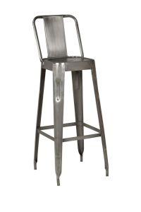 Industrial Metal Bar Stools