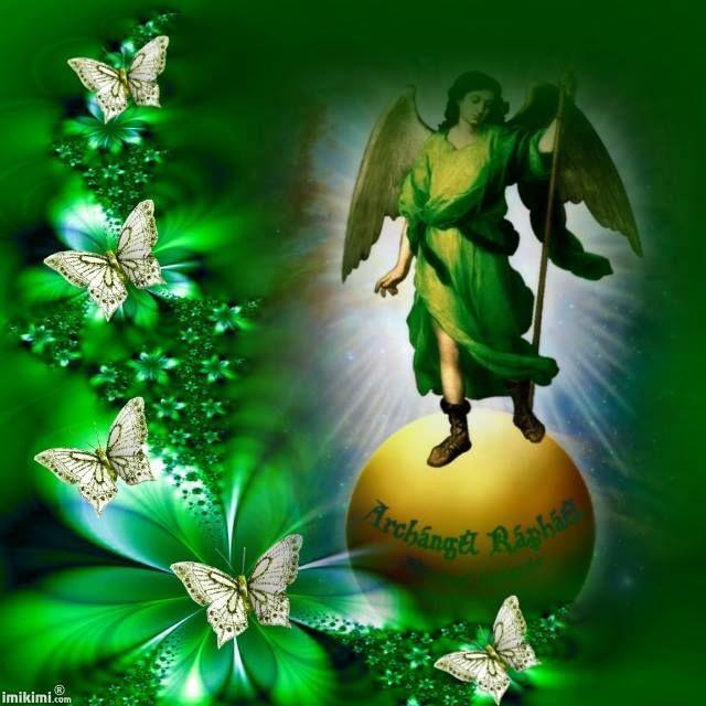 Arcangel Rafael Rayo Verde :)