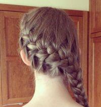 French braid wrap around | Hair styles~ | Pinterest