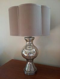 Table lamps for nightstands. Home Goods!