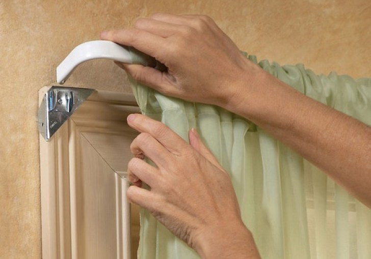 Diy Curtain Rod Holders