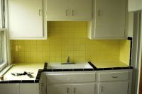 Yellow Tile Kitchen | Retro Kitchen #1 | Pinterest