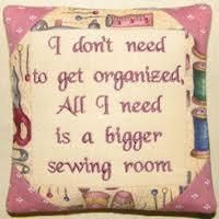 Bigger sewing room! This is truly ME.