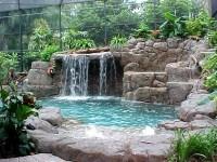small backyard waterfall | Cool Swimming Pools / Ideas ...