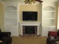 Bookcases On Side Of Fireplace Styles | yvotube.com