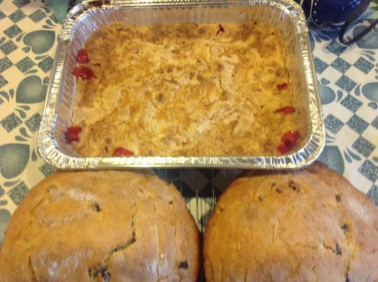 my irish soda bread cherry dump cake yummy recipes pinterest