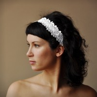 Wedding Crown Bridal Hair Band Woodland Flower Head By ...