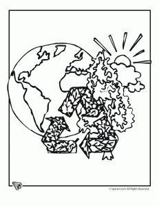 Ymca Earth Day Coloring Pages Coloring Pages