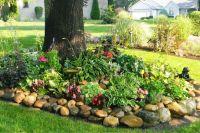 partial shade garden front yard | outdoors | Pinterest